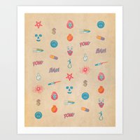 HURTFUL  Art Print
