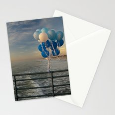 Santa Monica pier 4 Stationery Cards