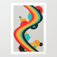 Summer Boom Art Print