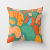 Amazing Things Will Happ… Throw Pillow