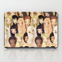 Girlie Pattern iPad Case