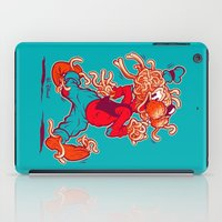 THE FLYING SPAGHOOFY MONSTER iPad Case