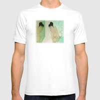 Fear Of Reflection Mens Fitted Tee White SMALL