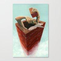 Walls Canvas Print