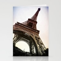 eiffel Stationery Cards featuring Eiffel  by Electric Avenue