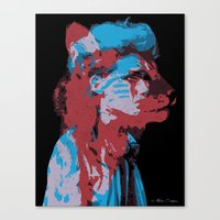 Bestial Mind Canvas Print