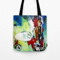 Fear of the Unknown Tote Bag