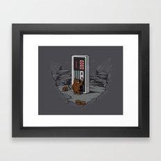 Dawn of gaming Framed Art Print