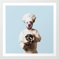 Chef Petit Pâté Art Print