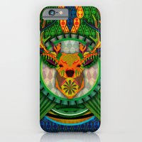 iPhone & iPod Case featuring Spirit of the Forest by UvinArt