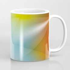Abstract Starburst Background Mug