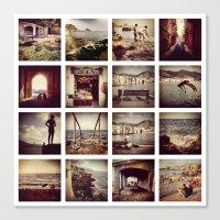 Instadeck Sicily Canvas Print