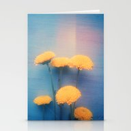 Stationery Cards featuring Little Yellow Flowers On… by Olivia Joy StClaire