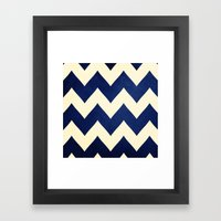 Fleet Week - Navy Chevro… Framed Art Print