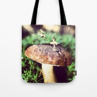 Mushroom Ballet Tote Bag