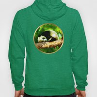 Baby Panda Resting - Painting Style Hoody