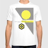 Impossible Symmetry - By Mens Fitted Tee White SMALL