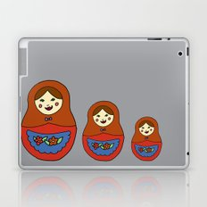3 Matroyshkas Laptop & iPad Skin