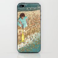 iPhone & iPod Skin featuring OCD Lady by Eugenia Loli
