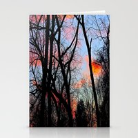 Sunset Through The Tangl… Stationery Cards