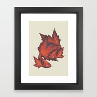 What About No Framed Art Print