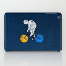 Astronaut on bicycle iPad Case