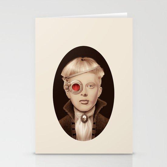 """Steampunk"" Stationery Card"