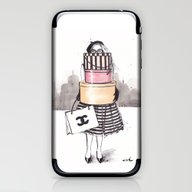 Shopping Junkie iPhone & iPod Skin