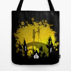 Jack Skellington and Sally Tote Bag