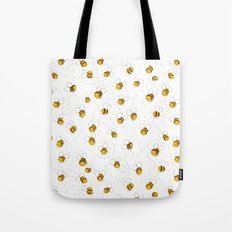 Busy buzzy bees Tote Bag
