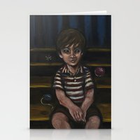 Halfway down the stairs Stationery Cards