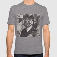 On Soil, On Blood Mens Fitted Tee Tri-Grey SMALL