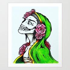 The Beauty In Death Art Print