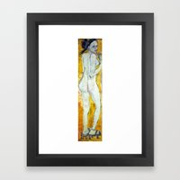 MEMOIRS OF A NUDE GEISHA Framed Art Print