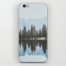 Italian Dolomites (landscape version) iPhone & iPod Skin