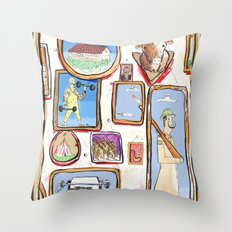 Pictures Throw Pillow