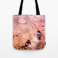 On Sky Seeing The Desert Tote Bag