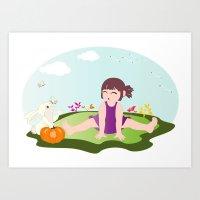 Hoho... It Is On Your No… Art Print