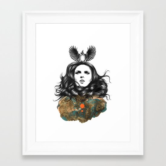 US AND THEM / THE OATH Framed Art Print