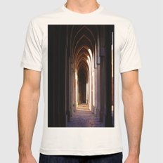 Hall In An Old Palace Mens Fitted Tee Natural SMALL