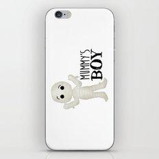 Mummy's Boy iPhone & iPod Skin