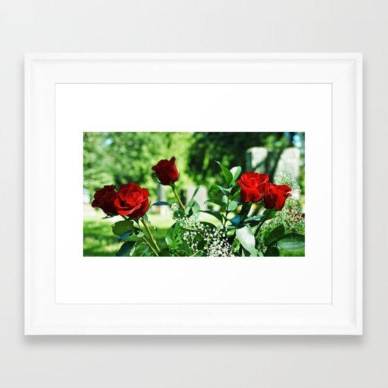 Symbolic beauty Framed Art Print