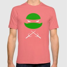 TMNT Raph poster Mens Fitted Tee Pomegranate SMALL