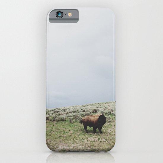 Hillside Bison iPhone & iPod Case