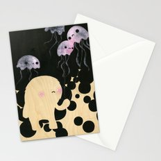 Jellyfish Wrangler Stationery Cards