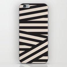 black or white iPhone & iPod Skin