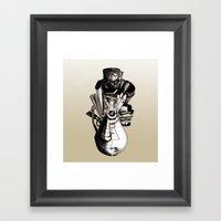 Emotionless Framed Art Print