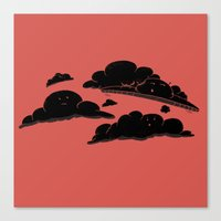 Cloud Cover Canvas Print