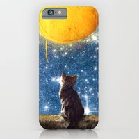 iPhone Cases featuring A Yarn of Moon by Diogo Verissimo