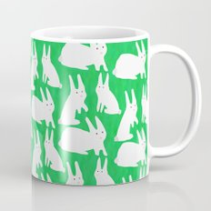 How Many Rabbits are in the picture?  Mug